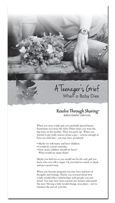 RTS 4131-E A Teenager's Grief When a Baby Dies