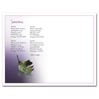 RTS 5321-E Handprint Poem - Large