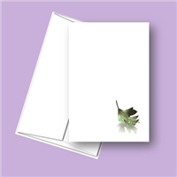 RTS 5301 Leaf and Teardrop Note Card